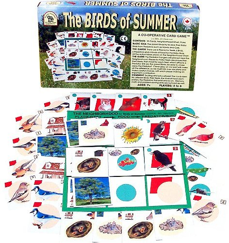 Family Pastimes The Birds of Summer - A Co-operative Card Game