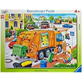 Waste Collection 35 Pieces Frame Puzzle