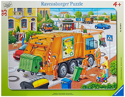 Waste Collection 35 Pieces Frame Puzzle - 1