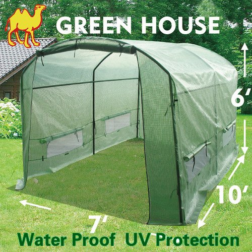 STRONG CAMEL New Greenhouse 10' X7'X6' Larger