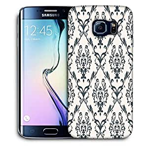 Snoogg Blue Pattern Printed Protective Phone Back Case Cover For Samsung Galaxy S6 EDGE / S IIIIII