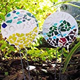 Diamond Tech Crafts Mosaic Garden Stakes Kit