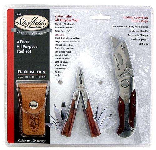 Sheffield 12808 Premium Tool Set, 2-Piece