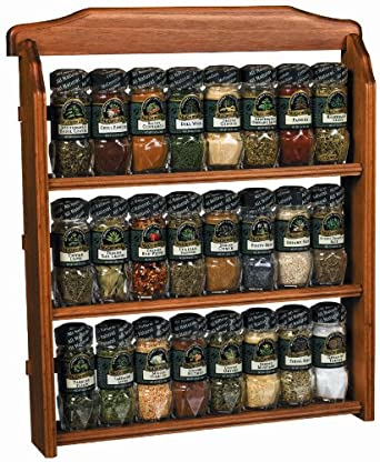 Spice Rack With Spices Included Sets Pre Filled Jars