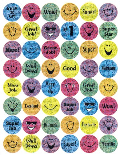 Eureka Sparkle Smiles Stickers