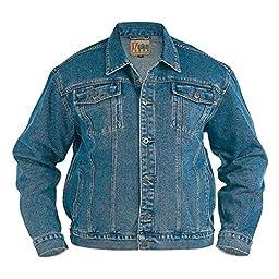 denim jacket stonewash 4xl