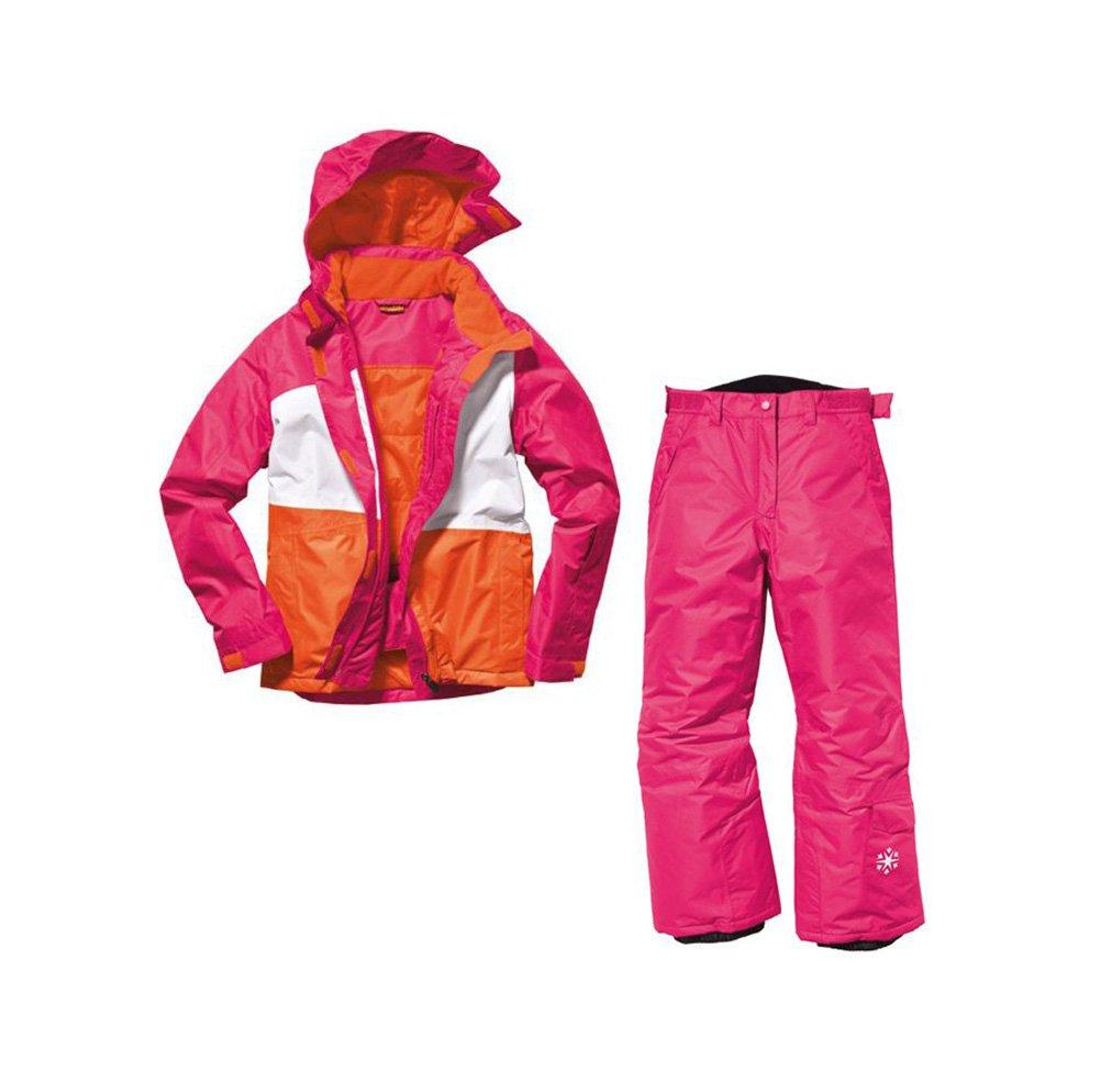 Mädchen Snowboardanzug Skianzug Größe: 158/164 Pink/Weiß/Orange Snowboardjacke & Snowboardhose Set Schneeanzug jetzt kaufen