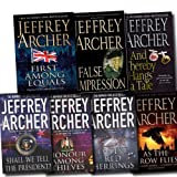 Jeffrey Archer Jeffrey Archer Collection 7 Books Set (Twelve Red Herrings, Shall We Tell The President, Honour Among Thieves, Thereby Hangs A Tale, False Impression, As The Crow Flies, First Among Equals)