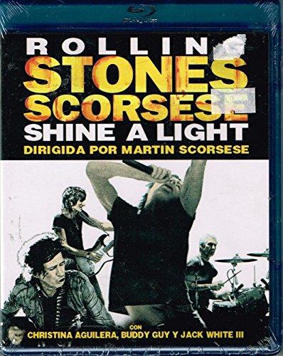 "ROLLING STONES SCORSESE ""SHINE A LIGHT"" DIRIGIDA POR MARTIN SCORSESE. [BLU-RAY/IMPORT]."