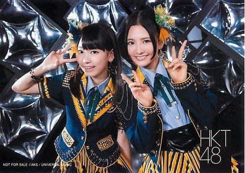 HKT48 公式生写真 メロンジュース 店舗特典 HMV/LAWSON 【宮脇咲良&兒玉遥】