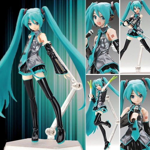 New In Box VOCALOID Hatsune Miku Anime 1/8 Scale Painted Action PVC Figure 5.2""