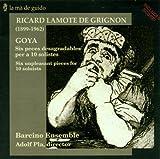 Goya, Melodia, Impromptu, Tocata Barcino Ensemble
