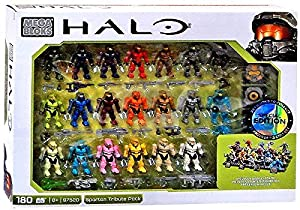 Mega Bloks Halo - Spartan Tribute Pack 97520 - 20 Figures - Exclusive