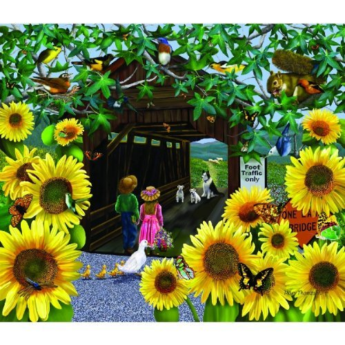 Cheap SunsOut Foot Traffic 550pc Jigsaw Puzzle by Mary Thompson (B0037G0T5U)