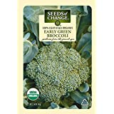 Seeds of Change Certified Organic Broccoli, Early Green - 500 milligrams, 100 Seeds Pack