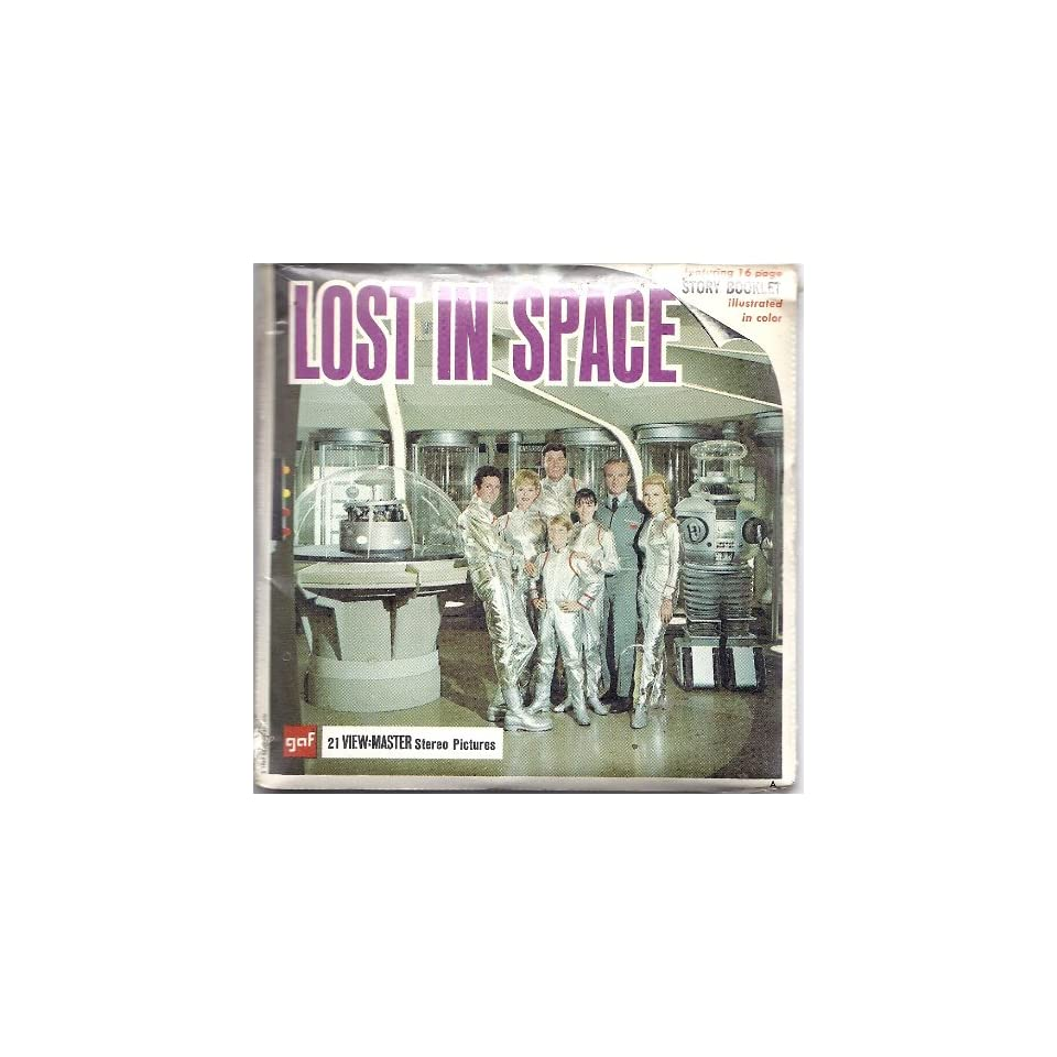 Lost In Space 3d View Master 3 Reel Packet