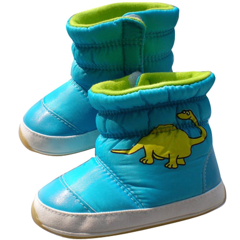 Tangda Baby Schuhe Winter Unisex Babyschuhe 12-14cm Länge Schnee Stiefel für Baby Snow Boots Größe 19-22 Farbe Wählbar