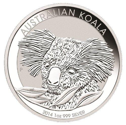 2016 Australian Koala 1 Ounce Silver Coins