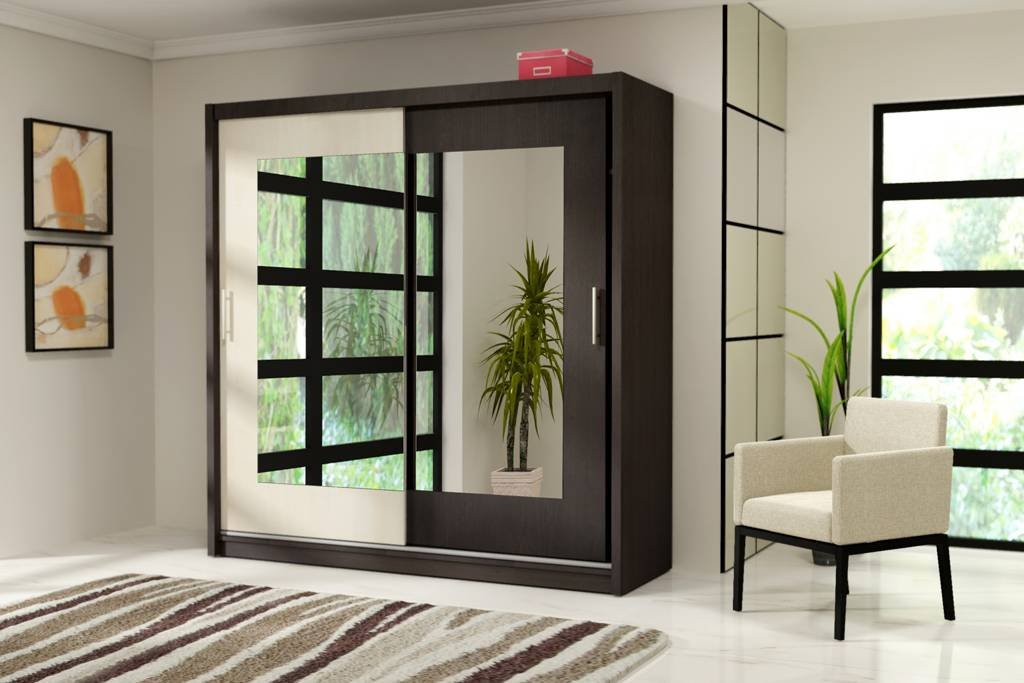 LUCCA 8 Stylish Bedroom Wardrobe Sliding Door       reviews and more information