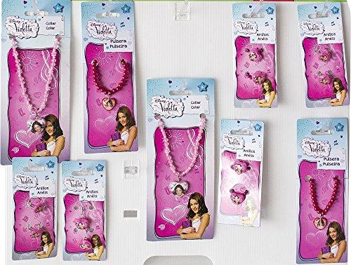 Accessori moda Violetta assortiti