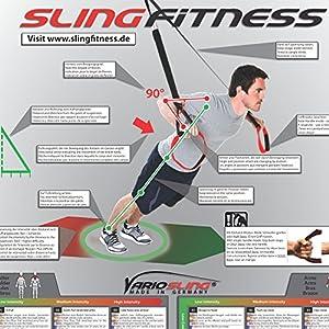 Suspension Trainer Poster 54 Training Exercises