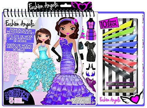 Fashion Angels Fashion Design Sketch Portfolio Artist Set front-518428