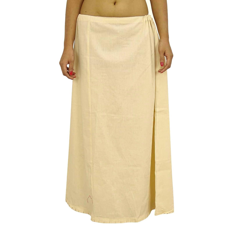 Saree Petticoatunderskirt Baumwolle Bollywood Indian Futter für Sari