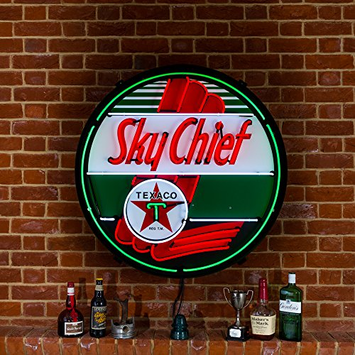 large-texaco-sky-chief-neon-sign-in-metal-can-240v-3-prong-uk