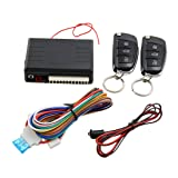 uxcell Car Alarm System Auto Remote Central Kit Door Lock Vehicle Keyless Entry System