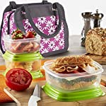 Ashland Insulated Lunch Bag with Fresh Selects Set