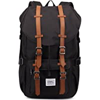 Kaukko 2 Side Pockets Outdoor Travel Hiking Backpack (Black)