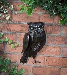 Metal 3D Wall Art Hanging Owl