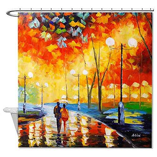 rioengnakg-caminando-por-la-avenida-aceite-pintura-impermeable-poliester-cortina-de-ducha-1-72x72180