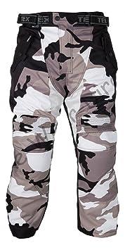 Gris de camouflage Imperméable Pantalon blindé moto