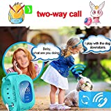 VIGICA-Q50-Children-Smart-watch-Kids-GPS-Tracker-Wrist-Fitness-Bracelet-SOS-Call-Remote-Monitor-Pedometer-Parent-Control-by-iPhone-and-Android-Smartphones-Boys