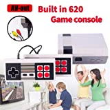 H&ZT Craft Retro Game Consoles,FC Mini Classic Game Consoles Built-in 620 TV Video Games with Double Controllers (NES620) (Color: Nes620)