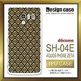 SH-04Eケース SH-04Eカバー SH-04E専用ケース TPUケース/AQUOS PHONE EX SH-04E /1010_紋章柄(シンプル_模様)