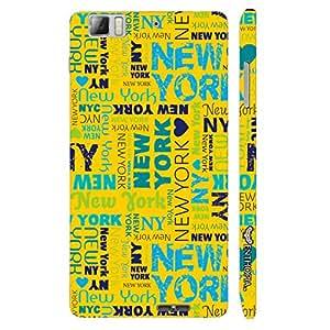 Lenovo K 900 New York Graffiti designer mobile hard shell case by Enthopia