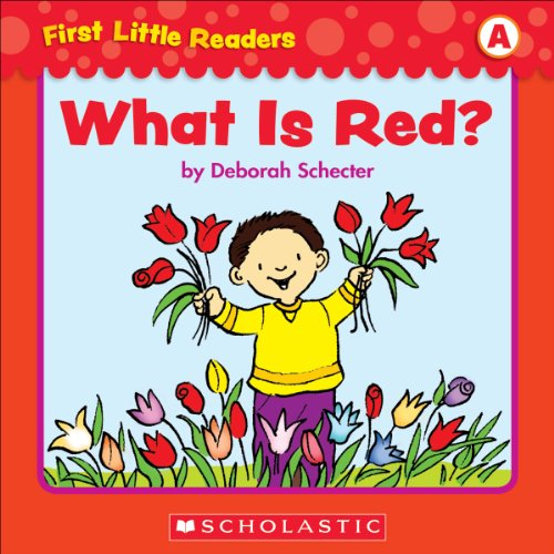 First Little Readers: What Is Red (Level A) PDF