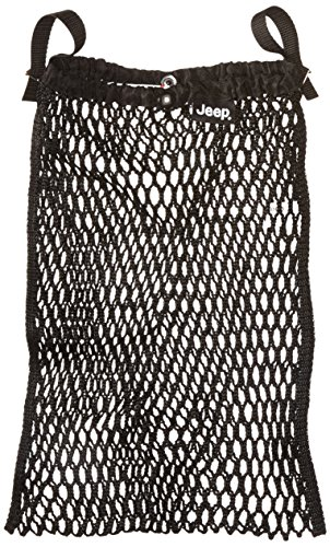 Jeep Stroller Bag, Mesh Netting Bag, Attaches To Stroller, Stroller Bag, Black - 1