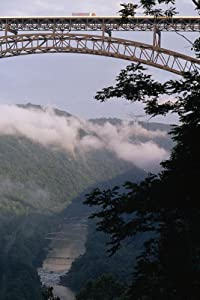 A Truck Passing over the New River Gorge Bridge