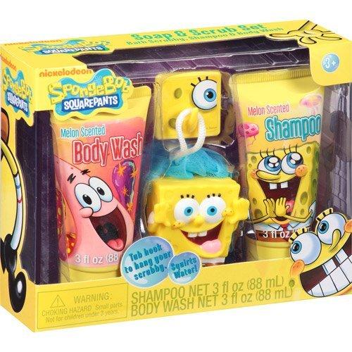 spongebob-squarepants-soap-scrub-set-bath-set