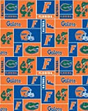 College University of Florida Gators 012 Print Fleece Fabric By the Yard at Amazon.com