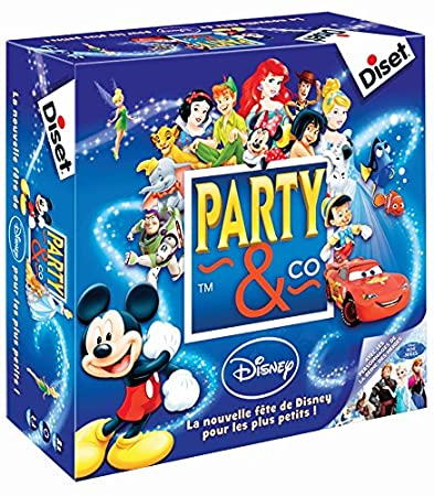 Diset - 46598 - Jeu - Party & Co Disney Français 3.0