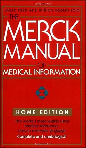 The Merck Manual Of Medical Information (Merck Manual of Medical Information, Home Ed.)