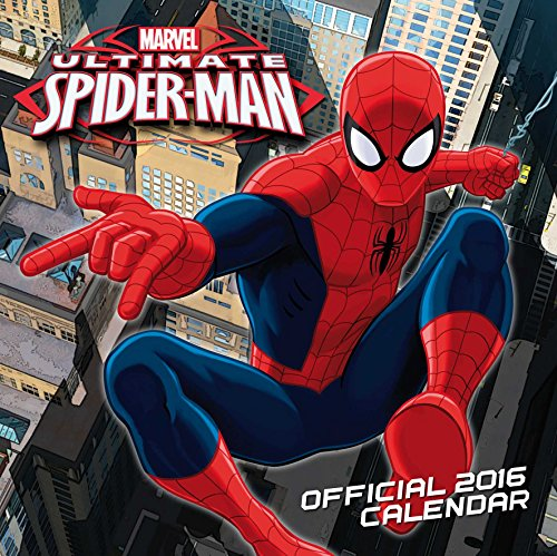 The Official Ultimate Spiderman 2016 Square Calendar