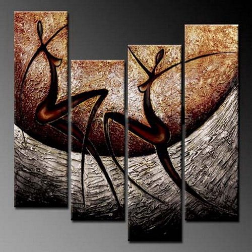 Phoenix Decor-Love Song-Elegant Modern Canvas Art for Wall Decor Home Decorations-Abstract Oil Paintings for Wall Decorations Home Decorations Stretched and Framed Ready to Hang Flowers Oil Paintings on Canvas for Wall