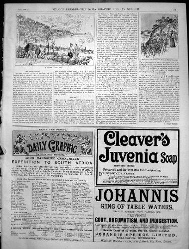 old-original-antique-victorian-print-torquay-bay-rock-walk-torbay-road-cleavers-juvenia-soap-1891-71
