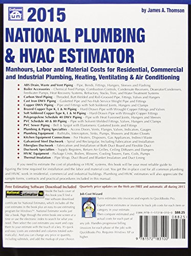 national plumbing hvac estimator 2015 national plumbing and hvac estimator hardware