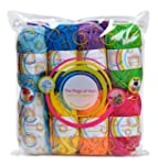 Premium Yarn Pack - 8 Acrylic Rainbow...